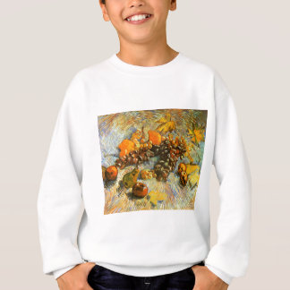 Still Life with Apples, Pears, Grapes - Van Gogh Sweatshirt