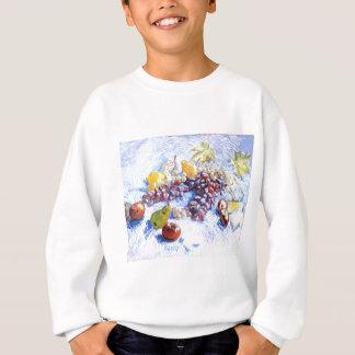 Still Life with Apples, Pears, Grapes - Van Gogh Sweatshirt