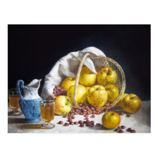 Still Life with Apples Postcard