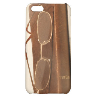 Still life with bible and reading glasses case for iPhone 5C
