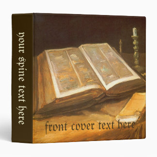 Still Life with Bible by Vincent van Gogh Vinyl Binders