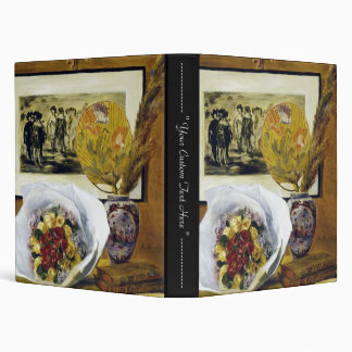 Still Life with Bouquet Pierre Auguste Renoir 3 Ring Binders