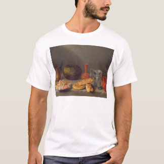 Still life with bread, 1648 T-Shirt