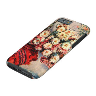 Still life with Chrysanthemums by Claude Monet Tough iPhone 6 Case