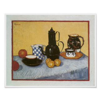 Still Life with Coffeepot, Vincent Van Gogh Poster