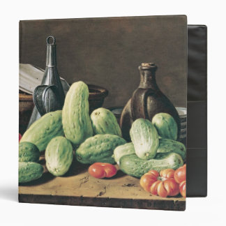 Still Life with Cucumbers and Tomatoes Vinyl Binders