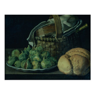 Still Life With Figs, 1746 Postcard