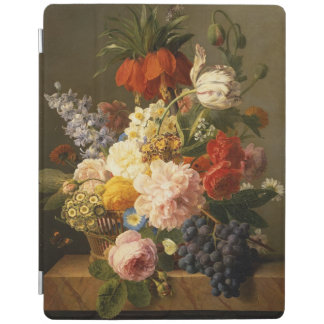 Still Life with Flowers and Fruit, 1827 iPad Cover