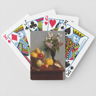 Still Life with Flowers and Fruit Bicycle Playing Cards