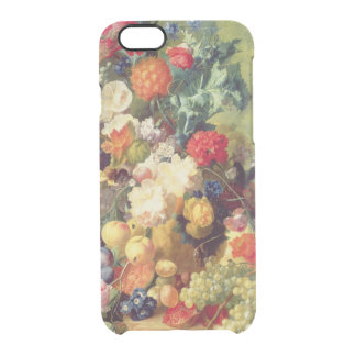 Still Life with Flowers and Fruit Clear iPhone 6/6S Case