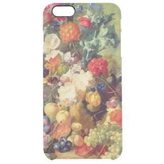Still Life with Flowers and Fruit Clear iPhone 6 Plus Case