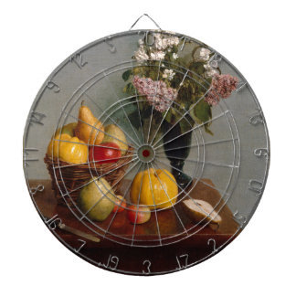 Still Life with Flowers and Fruit Dartboard