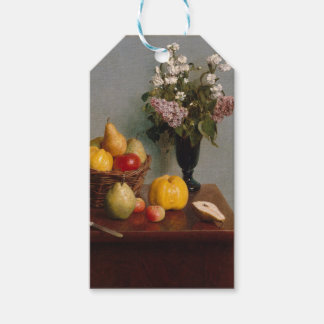 Still Life with Flowers and Fruit Gift Tags