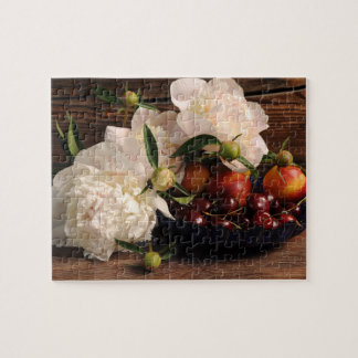 Still Life with Flowers and Fruit Jigsaw Puzzle