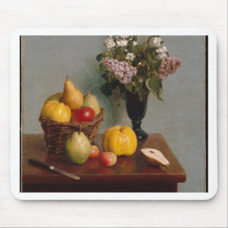 Still Life with Flowers and Fruit Mouse Pad