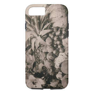 Still Life with Fruit, 1860 (sepia photo) iPhone 7 Case
