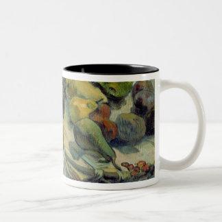 Still Life with Fruit, 1888 Two-Tone Coffee Mug