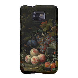Still Life with Fruit, Foliage and Insects, c.1669 Samsung Galaxy S2 Covers