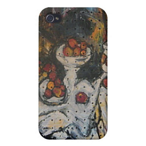 STILL LIFE WITH FRUIT iPhone 4/4S CASE