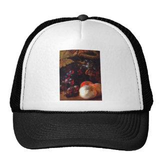 Still life with fruits by Nicolas de Largillière Trucker Hat