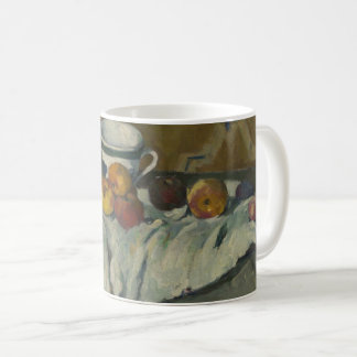 Still Life with Jar, Cup, and Apples Coffee Mug