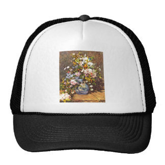 Still life with large vase by Pierre Renoir Trucker Hat