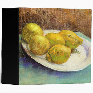 Still Life with Lemons on a Plate Binders