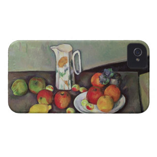 Still life with milk jug and fruit, c.1886-90 (oil Case-Mate iPhone 4 cases