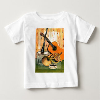 Still Life with Musical Instruments Baby T-Shirt