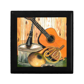 Still Life with Musical Instruments Gift Box