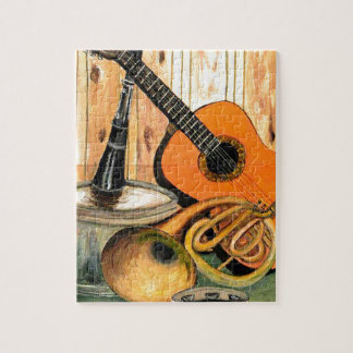 Still Life with Musical Instruments Jigsaw Puzzle