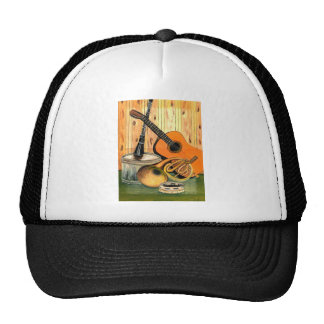 Still Life with Musical Instruments Trucker Hat