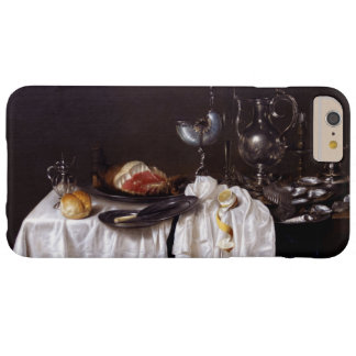 Still Life with Nautilus Cup by Willem Heda 1654 Barely There iPhone 6 Plus Case