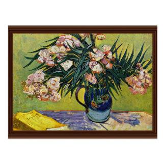 Still Life With Oleander By Vincent Van Gogh Postcards