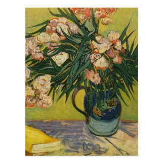 Still life with oleander - Vincent Van Gogh Postcard
