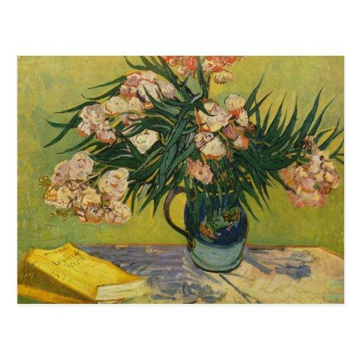 Still life with oleander - Vincent Van Gogh Postcard