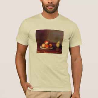 Still life with peaches by Jean Liotard T-Shirt