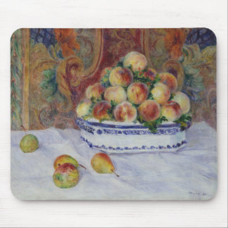 Still Life with Peaches Mouse Pad