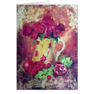Still Life with Pomegranate Card
