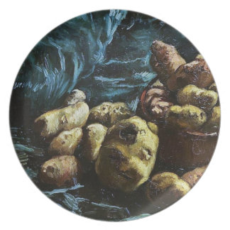 Still Life with Potatoes in a Bowl Van Gogh Vincen Dinner Plate