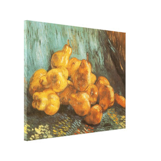 Still Life with Quince Pears by Vincent van Gogh Canvas Print