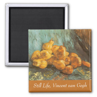 Still Life with Quince Pears by Vincent van Gogh Magnet