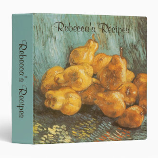 Still Life with Quince Pears by Vincent van Gogh Vinyl Binders