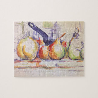 Still Life with Saucepan by Paul Cezanne Jigsaw Puzzle