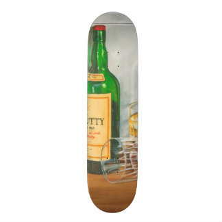 Still Life with Scotch by Jennifer Goldberger Custom Skateboard