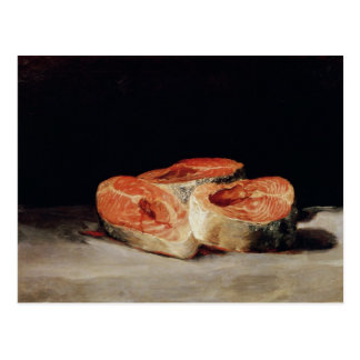 Still Life with Slices of Salmon, 1808-12 Postcard