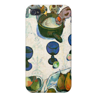 Still Life with Three Puppies, Paul Gauguin iPhone 4 Cover