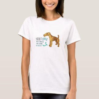 STILL LOVE my Airedale Terrier Basic T-shirt