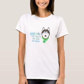 STILL LOVE my Husky Women's Basic T-shirt