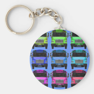 Still More Colors Basic Round Button Keychain